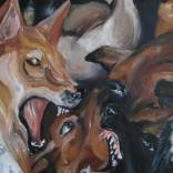 """Dog Fight"" (detail)"