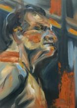 """""""Lucian Freud Study"""""""